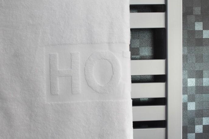 Ręcznik biały, gramatura 500 g/m2